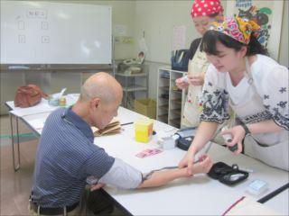 血糖・血圧チェック