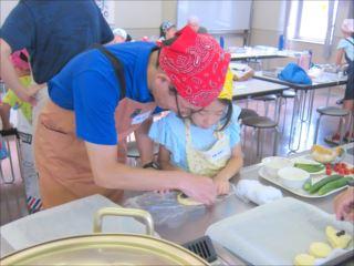 お父さんと料理