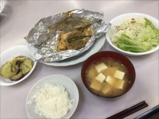 完成した料理