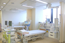 ICU病棟(HCU)6床